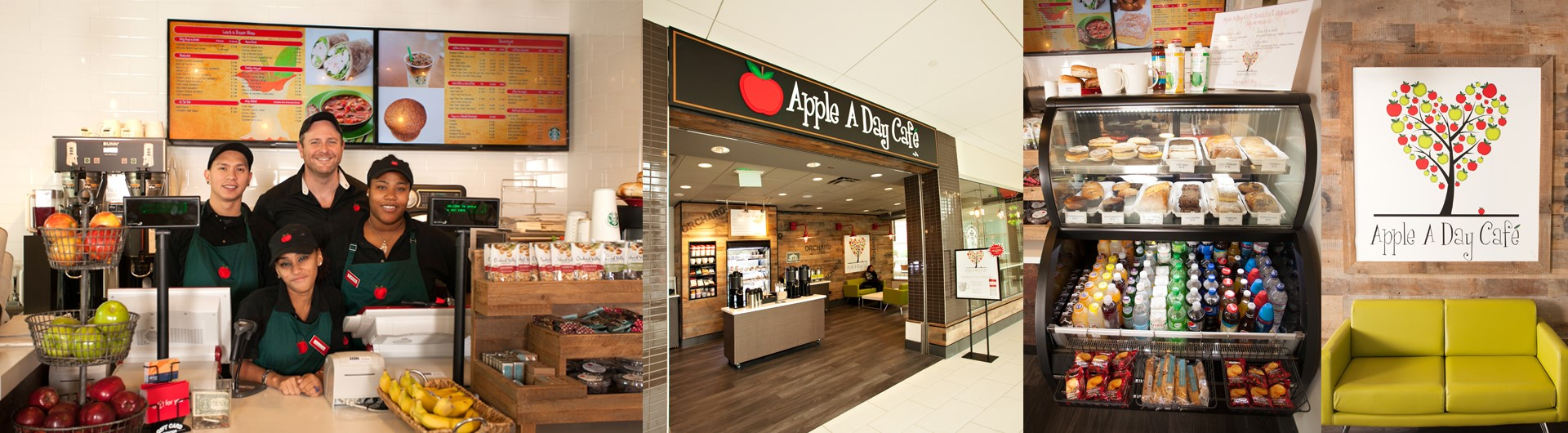 Apple A Day Cafe in New Jersey